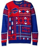 NFL Klew Men's Size Buffalo Bills Patches Ugly Sweater - $34.95