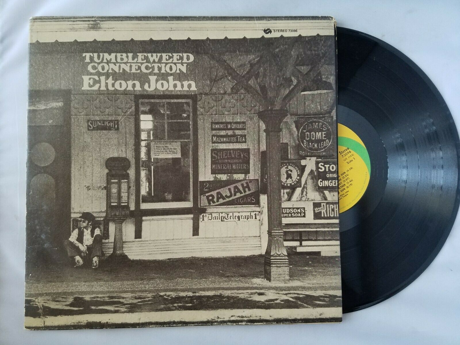Elton John Tumbleweed Connection Disque Vinyle Vintage 1970 Universal City