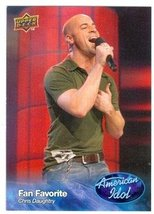 Chris Daughtry trading card (Singer) 2009 Upper Deck American Idol #021 - $4.00