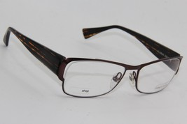 New Alain Mikli Al 0869 0004 Brown Eyeglasses Authentic Rx AL0869 59-18 W/CASE - $96.33