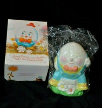 Avon Humpty Dumpty Hand Painted Earthenware Bank  Vintage 1982 Collectib... - $12.99