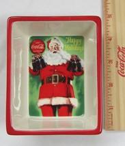 "Coca-Cola Ceramic Santa Dish - Small ""Good Taste"" - NEW - $4.90"