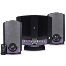GPX HM3817DTBLK Compact Disc Home Music System w/Backlit LCD & Auxiliary... - $61.06