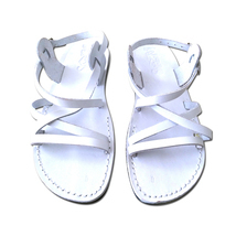 Leather Sandals for Men and Women LONDON by SANDALIM Biblical Greek Summ... - $39.38 CAD+