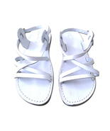 Leather Sandals for Men and Women LONDON by SANDALIM Biblical Greek Summ... - €25,83 EUR+