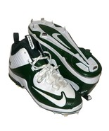 Nike Air Max MVP Elite II Mid Baseball Cleats Green Sz 13 PE Sample Rare... - $48.39