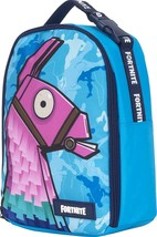 Lunch Box Fortnite Llama Loot Kit Bag School Insulated Tote Container Bl... - $22.43