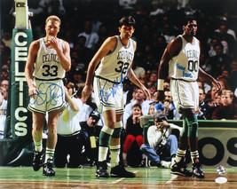 Larry Bird, Kevin McHale & Robert Parish Signed Boston Celtics 16x20 Photo - $243.09