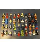 10 NEW LEGO MINIFIG PEOPLE LOT random grab bag of minifigure guys city t... - $31.84