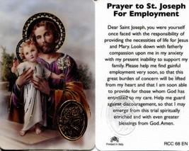 Prayer to St Joseph For Employment Wallet Card EB769 - Providing Necessi... - $2.79
