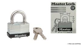 Master Lock 1-1/16'' H X 1'' W X 1-3/4'' L Laminated Steel Warded Locking 1 UNIT - $9.85