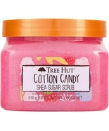Tree Hut COTTON CANDY Shea Sugar Scrub 18 Oz Formulated With Real Sugar New - $25.98