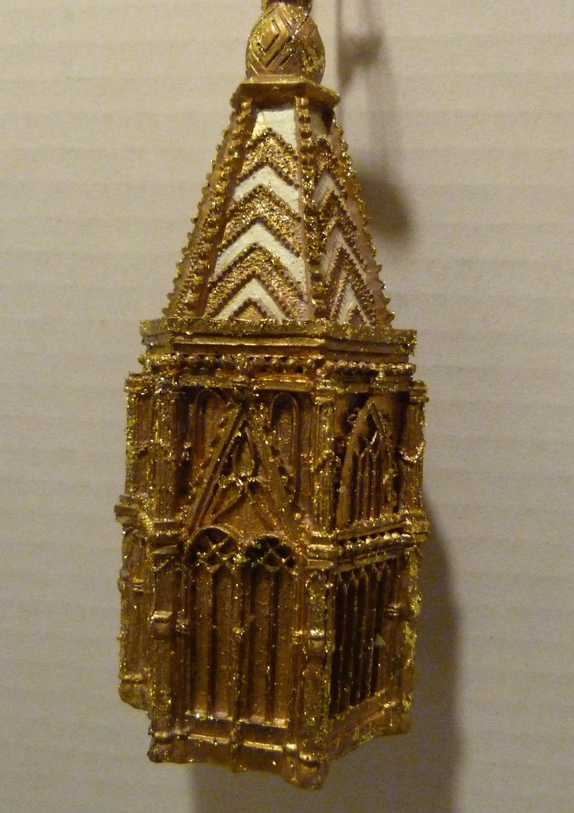Victoria & Albert Royal Museum Gold Cathedral Christmas Ornament by SILVESTRI - $20.98