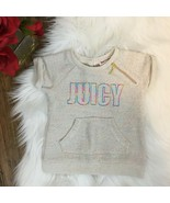 Juicy Couture Babies Infants Girls Cream Multicolored Sweater Shirt Size... - $8.99