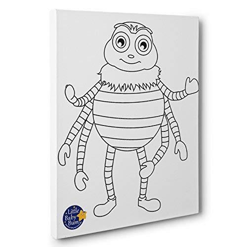 Little Baby Bum Incy Kids Room Coloring Canvas Decor - $34.65