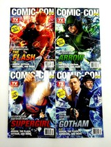 SDCC 2015 TV Guide Magazine Comic Con Exclusive Set Supergirl Arrow Flash Gotham image 1