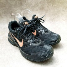 Nike Womens Air Max Torch 4 343851-012 Sz 9 M Black Rose Gold Running Shoes - $49.99