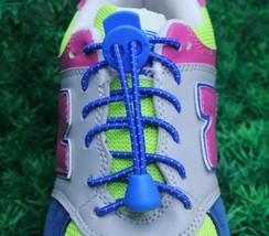 Elastic Shoelaces Lock Laces No Tie Triathlon Running Jogging Elasticate... - $2.63+