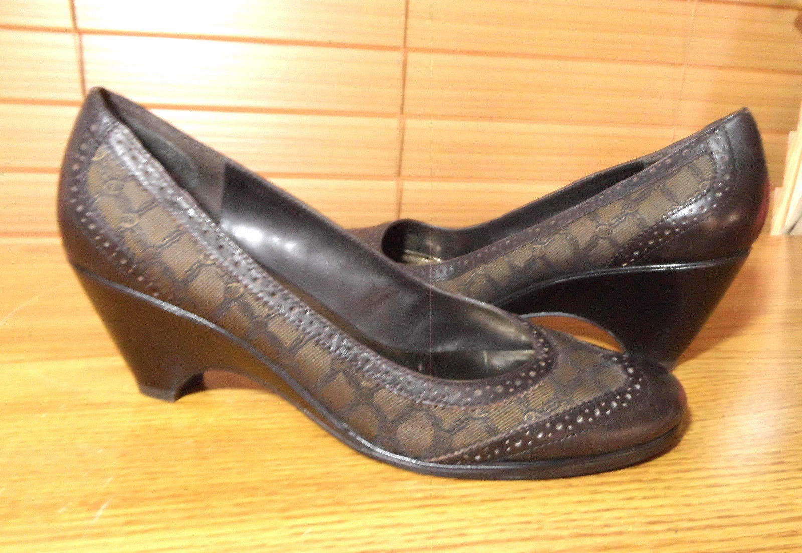 0d27e8d223b Etienne Aigner Heels Dress Shoes 8.5M Brown and 50 similar items. 57
