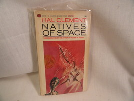 Natives Of Space Paperback Book Ballantine U2235 Hal Clement 1965 - $2.49