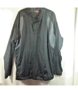 Grand Slam Performance Men's Pullover Wind Jacket Black Gray Size LT/GA - $19.99