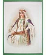 NORMAN GIRL Royal Princess Fine Dress Jewels - COLOR Antique Print - $17.96
