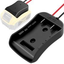 Battery Adapter For Dewalt 20V Max-18V Dock Power Connector With 14 Ga - $23.99