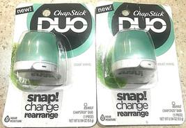 ChapStick Duo Cool Mint 8 Hour Moisture Lip Balm 2 Pack - $9.99