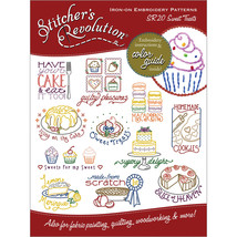 Stitcher's Revolution Iron-On Transfers-Sweet Trea - $6.48