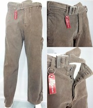 Pantalone uomo Armani Jeans con cintura marrone Made in Italy XS 44 VP €... - $925,32 MXN