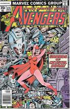 The Avengers Comic Book #171, Marvel Comics Group 1978 NEAR MINT - $21.20