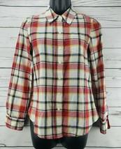 Gap Women's Boyfriend Fit Plaid Button Down Shirt Size XS - $12.30