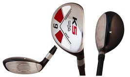 "Majek Golf Senior Lady #9 Hybrid Lady Flex New Rescue Utility ""L"" Flex Club - $65.20"