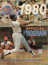 1980 New York Mets vs Phillies Program Score Book Steve Henderson Magazi... - $4.94