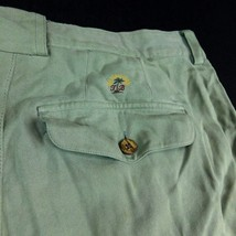 Tommy Bahama Relax Pleated Front Shorts Silk Green W 36 (Act W 34) - $28.99