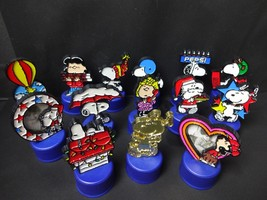 PEANUTS SNOOPY PEPSI Bottle Cap 14 piece FREE SHIPPING - $36.47
