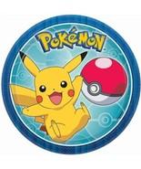 "Pokemon Core 8 Ct Dessert Cake Plates 7"" - $4.35"