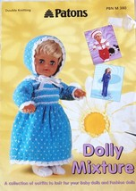 Paton's Dolly Mixture Knit Pattern Booklet 1999 - $12.95