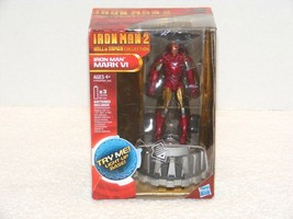 NIP HASBRO 2010 IRON MAN 2 MARK VI ACTION FIGURES HALL OF ARMOR COLLECTI... - $24.99