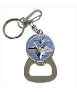 F-22 Raptor Jet Fighter Bottle Opener Keychain - $7.70