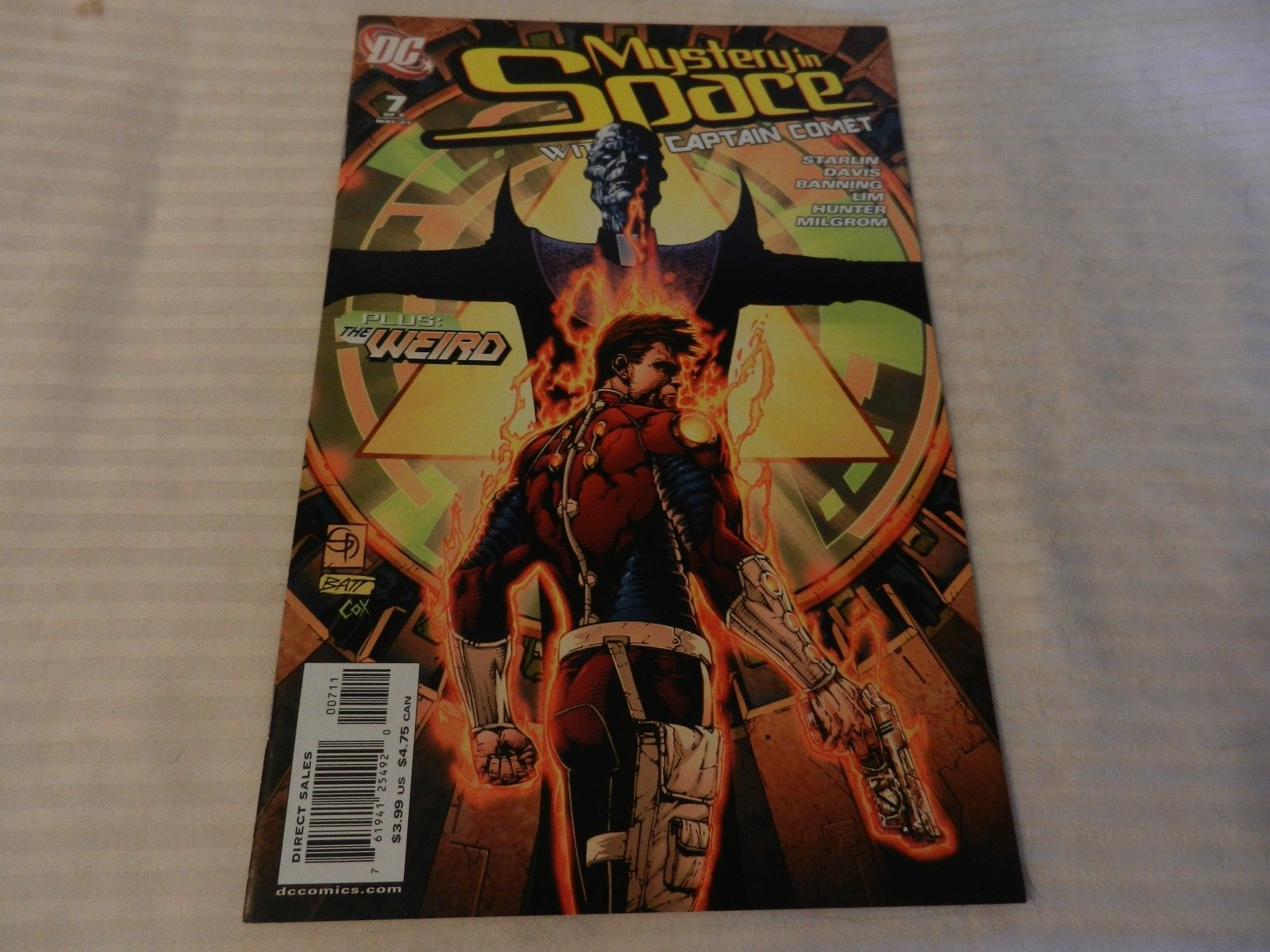 Mystery in Space With Captain Comet Plus The Weird #7 May 2007 DC Comics