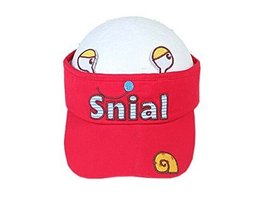 Children Sun Protection Hat Children Cap Without Top 2-4 Years(Red)