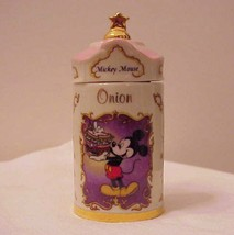 Mickey Mouse Disney Spice Jar Onion by Lenox - $24.00