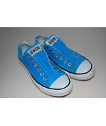Converse All Stars Slip On Sneakers Aqua Turquo... - $19.95