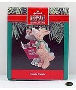 Hallmark 1990 Coyote Carols Christmas Ornament Mib - $5.95