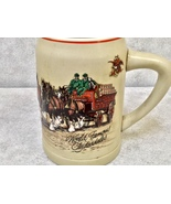 Budweiser World Famous Clydesdales Beer Mug - $35.99