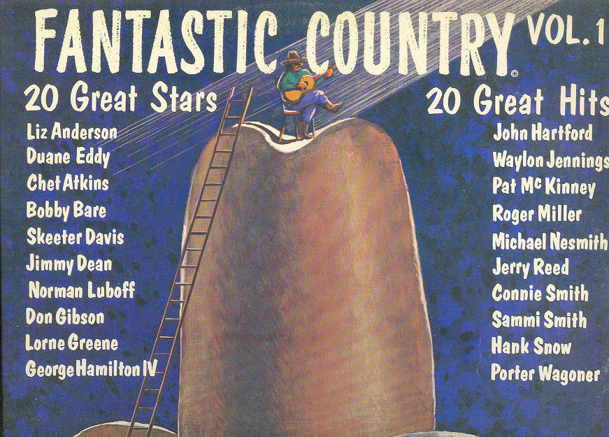 FANTASTIC COUNTRY LP vol. 1 John Hartford Waylon Jennings &