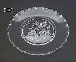 Fostoria Camellia Plate 8 1/2 In. Luncheon - $8.95