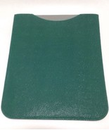 Mulberry Ipad Sleeve Case Cover Green Shiny Goat Leather - $127.46