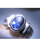 Haunted RING ORACLE PSYCHIC DREAM LIGHTING MAGICK Spell 925 LOLITE WITCH Cassia4 - $55.33